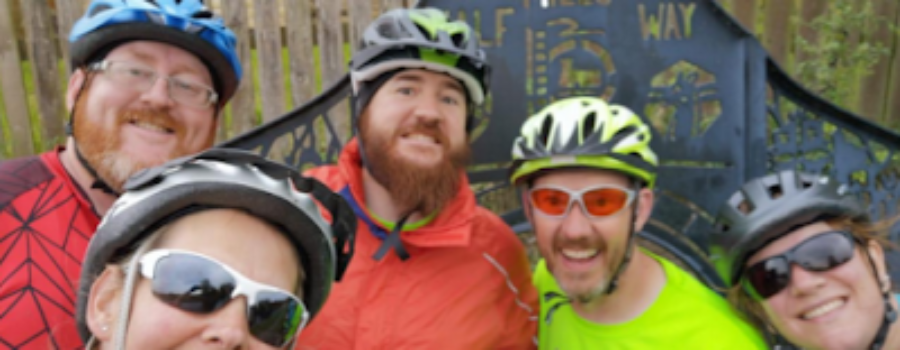 A journey of 127¼ miles