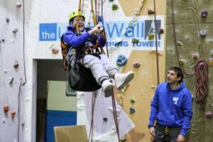 Wall Climbing at The Leeds Wall