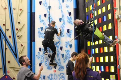 Fundraising and Fun at Clip n Climb