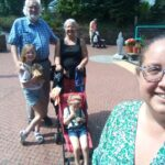 Photo of family on The Principle Trust Holiday
