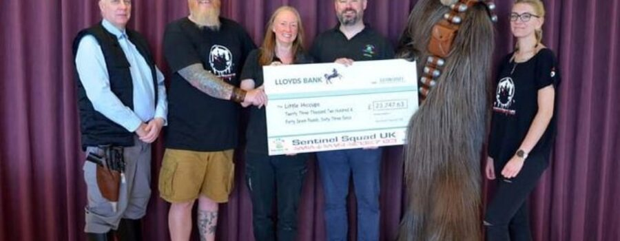 Star Wars character group raises incredible sum for Leeds charity during lockdown